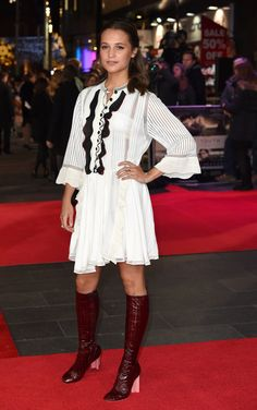 Testament of Youth London premiere, January 5