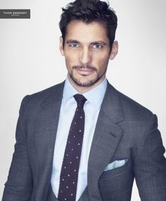 David Gandy is a Man with Style for Thom Sweeney