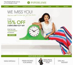 Reactivation campaigns are a great way to inspire lapsed customers to start shopping again