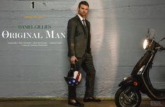 Daniel Gillies Poses for Ferrvor, Talks The Originals + Menswear