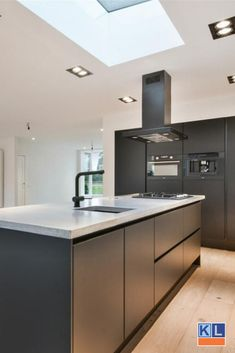 Kitchen Time, Kitchen Island, Cuisines Design, Küchen Design, Home Kitchens, My House, Sweet Home, New Homes, Black And White