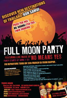 Full Moon Party Mailler
