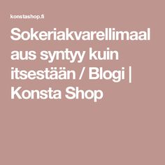 Sokeriakvarellimaalaus syntyy kuin itsestään / Blogi | Konsta Shop Art Lessons, Watercolor, Handicraft Ideas, Colour, School, Color Art Lessons, Pen And Wash, Color, Watercolor Painting
