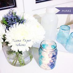 DIY Decorated Jars