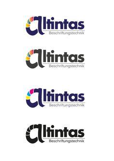 Logoentwicklung für ein befreundetes Beschriftungstechnik-Unternehmen.