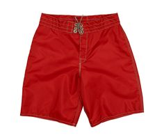 A legend for more than 50 years, Birdwell Beach Britches are available in a variety of styles, sizes and colors; these Men's Board Shorts 312 are in Red. Mens Boardshorts, Swimwear, Model, Red, Color, Collection, Style, Products, Fashion