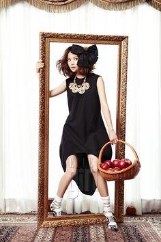 Yoon Seung Ah || Elle Girl Korea || June 2011