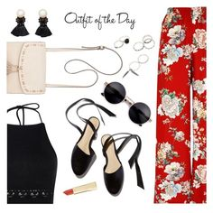 """Outfit of the Day"" by dressedbyrose ❤ liked on Polyvore featuring River Island, Boohoo, Steve Madden, Violeta by Mango, Petit Bateau, ootd and polyvoreeditorial"
