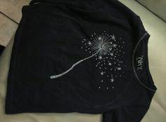 Bordado sobre camiseta para mireia