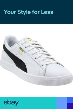 7ed4413b623 Puma Clyde Foil Sneakers- White- Mens