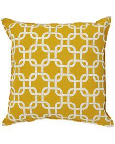 Sentiments 'Geometric' Indoor/Outdoor Decorative Pillow