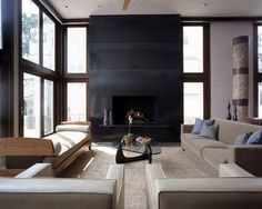 House on Belle Island - modern - living room - new york - Beinfield Architecture PC