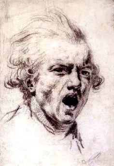 Sir Joshua Reynolds  Self-Portrait as a Figure of Horror (c.1784)  Tate Gallery, London