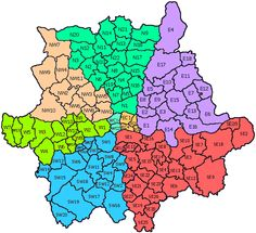 London Map Districts.20 Best Postcode London Images London Map Greater London London
