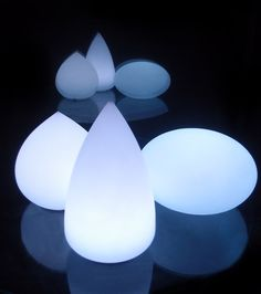 "remote control orb and teardrop 12"" lights"