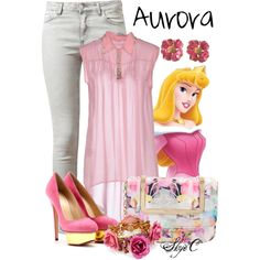 """Princess Aurora - Spring - Disney's Sleeping Beauty"" by rubytyra on Polyvore"