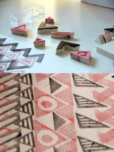 great stamp patterns. by moniquilla
