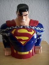 1997 Warner Bros. DC Comics Superman Cookie Jar