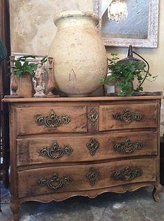 Commode XVIIIème Decoration, Facade, Dresser, Bedrooms, Antiques, Furniture, Home Decor, Decor, Antiquities