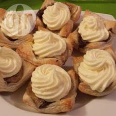 Banana Nutella Tarts @ allrecipes.com.au