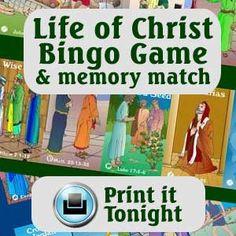 Life of Jesus Bingo