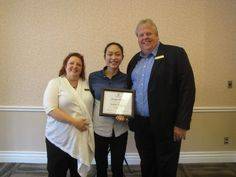 Join us in recognizing Maria Vergara on her People Pleaser of the Month award for June 2016. Maria has worked as a food and beverage intern at Heidel House Resort & Spa since January 2016.