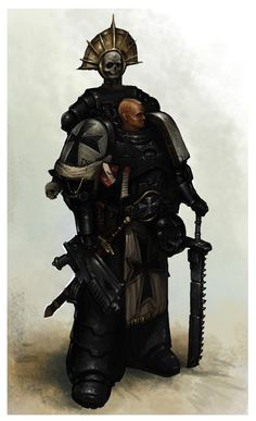 BlackTemplar by ~MasterAlighieri on deviantART