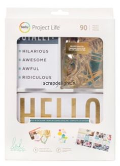 Becky Higgins | Project Life value kit: Fill in the Blank | Scrapdelight Scrapbookwinkel