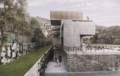 Seinfeld Arquitectos + Tandem Arquitectura, mención honrosa en concurso de nuevo edificio de Rinconada Club