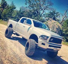 Lifted RAM Truck