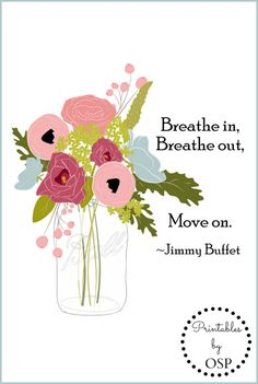 Jimmy Buffet Quote Free Printable ~ perfect for framing!