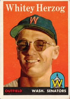 Was the flash so bright Whitey needed his shades? Old Baseball Cards, Hockey Cards, Stl Cardinals, St Louis Cardinals, St Louis Baseball, Player Card, Washington Nationals, Sports Photos, Baseball Players