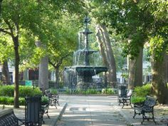 I always loved this fountain in Bienville Square in downtown Mobile, AL. As a child, we went to feed the pigeons. Good memories!