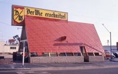 If you grew up in the here in SoCal, chances are you may have some fun childhood memories stopping at Der Wienerschnitzel for a bite to eat. Orange County California, Vintage California, Southern California, Lakewood California, Tustin California, Whittier California, California Travel, Wiener Schnitzel, My Childhood Memories