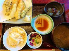 Japanese food is not only SUSHI : TEMPRA & TAKENOKO GOHAN