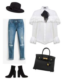 Alizea, the victorian white shirt of the season | Anne Fontaine