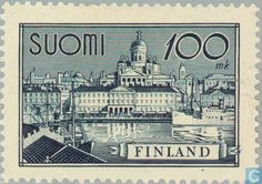 Finland - 10000 Green. 1957