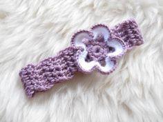 *Haarband mit Blume*    *Optimal als Accessoire für Baby Fotoshootings geeignet!*    Farbe der Blume und des Haarbandes sind frei wählbar. Die Produkt