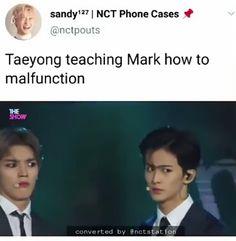 taeyong please don't- Funny Kpop Memes, Bts Memes, Nct Dream Renjun, Mark Nct, All The Things Meme, Nct Taeyong, Thing 1, Fandoms, Entertainment