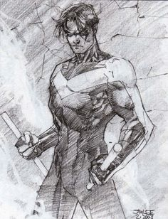 Nightwing B by Jim Lee