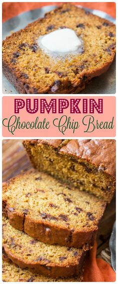 Every year the internet explodes with pumpkin recipes but what you really need is a perfect pumpkin chocolate chip bread recipe and I've got you covered. http://ohsweetbasil.com