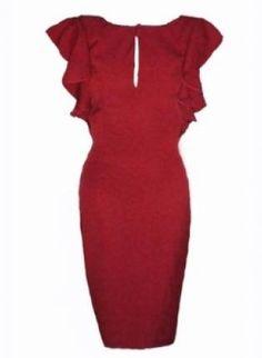 Red Carpet Dress, Dress, red carpet dress date dress party, Chic Little Red Dress, Dress Red, Red Carpet Party, Date Dresses, Trendy Clothes For Women, Junior Outfits, Red Carpet Dresses, Dress Party, Cold Shoulder Dress
