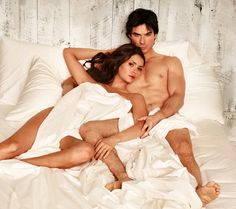 Bonus Photos From the Sexy Vampire Diaries Shoot For Entertainment Weekly | Wetpaint, Inc.