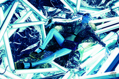 Rinko Kikuchi Is A Sci-Fi Fashion Princess In V Magazine