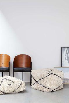 LARGE BENI OURAIN FLOOR CUSHION NO.10   #interior #interiorinspiration #polishedconcrete #interiordesign #indoorplant #designer #myhabitatonline #beniourain #floorcushion #Beniourainrug #pouf #vintagerug #azilal #azilalrug #wool #woven #handmade #cushion #abstract #abstractpattern #abstractart #custommade #rug #wovenrug #knottedrug #fluffypillow #fluffy #kilimrug#flatweave