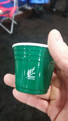 Solo cup shot glass.