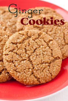 Ginger Cookies - Cooking Classy