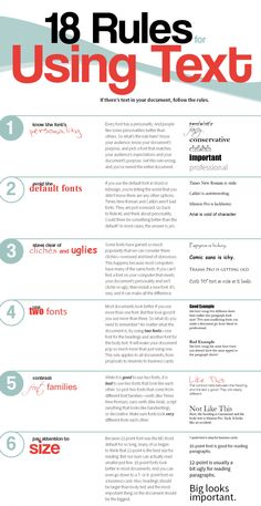 18 Rules For Using Text In Your Work - - Typography and lettering is important, there's no doubt about that, in fact it's probably one of the most important factors to consider in graphic design. Graphic Design Lessons, Graphic Design Tutorials, Graphic Design Inspiration, Logo Design Tutorial, Graphisches Design, Layout Design, Text Design, Types Of Design, Design Ideas