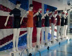 ZARA X  OLYMPIC 奧運 期間 相關示意