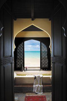 Villa Maroc in Bangkok, Thailand. Built in 2009 with Morrocan inspired design. Moroccan Design, Moroccan Decor, Moroccan Style, Moroccan Lanterns, Islamic Architecture, Architecture Details, Design Marocain, Beautiful Homes, Beautiful Places